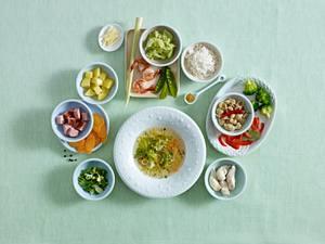 Schlank-Suppe (3 Tage, jeweils 5 Portionen) Rezept