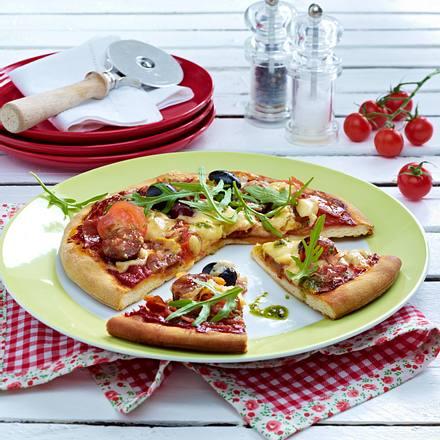 Schlemmer-Pizza Rezept