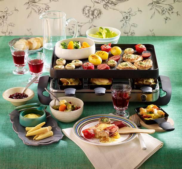 Raclette  Raclette - gemütliche Pfännchen-Schlemmerei | LECKER
