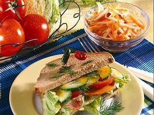 Schlemmer-Sandwich mit Rohkost Rezept