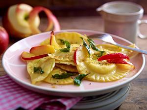 Schlutzkrapfen mit Apfel-Salbei-Butter/Variante Rezept
