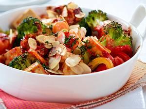 Schmorgemüse mit Tofu Rezept