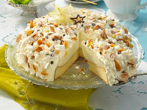 Schneeflöckchen-Torte Rezept