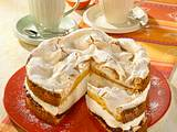 Schneemousse-Käse-Torte Rezept