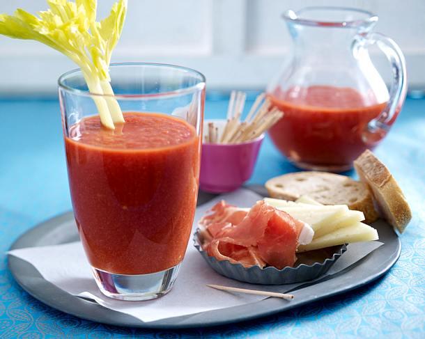 Schnelle Gazpacho Rezept