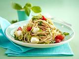 Schnelle Tomaten-Zucchini-Spaghetti Rezept