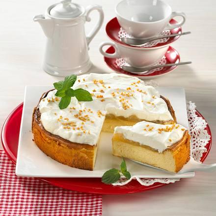 Schneller Apfel-Käse-Kuchen Rezept