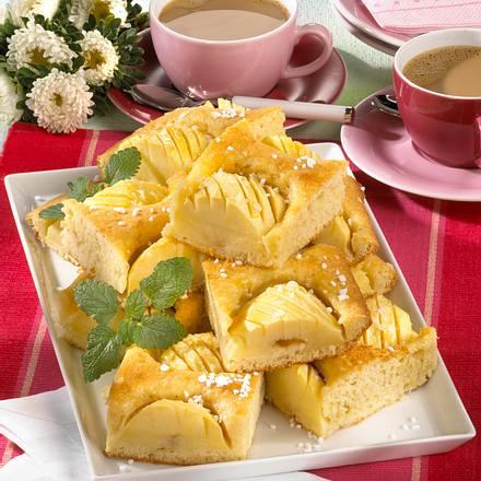 Schneller Apfelkuchen Rezept