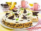Schneller Bananen-Schoko-Mint-Kuchen Rezept