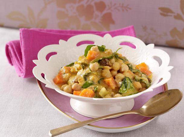 Schnelles Kichererbsen-Curry Rezept