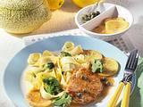 Schnitzel in Zitronen-Kapern-Soße Rezept