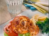 Schnitzel-Toast mit Paprika Rezept