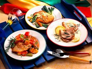 Schnitzel und Paprikagemüse Rezept