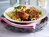 Schnitzelröllchen mit Mozzarella- Pesto-Füllung Rezept
