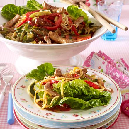 Schnitzelsalat Szechuan Art Rezept