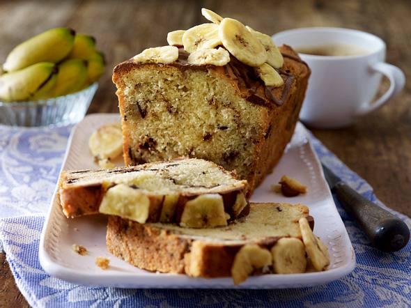 Schoko-Bananen-Kuchen Rezept