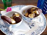 Schoko-Bananen mit Toffeecreme Rezept