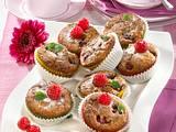 Schoko-Himbeer-Muffins Rezept