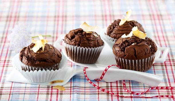 Schoko-Kokos-Muffins Rezept
