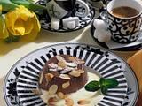 Schoko-Mocca-Mandelpudding mit Vanilleschaum Rezept