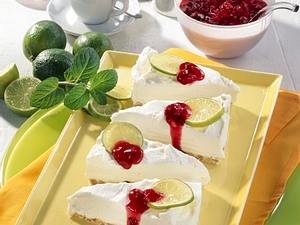 Schoko-Müsli-Torte mit Limettencreme Rezept