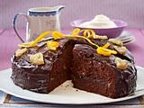 Schoko-Orangen-Rührkuchen Rezept