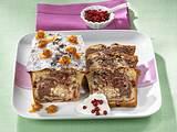 Schoko-Preiselbeer-Marmorkuchen Rezept