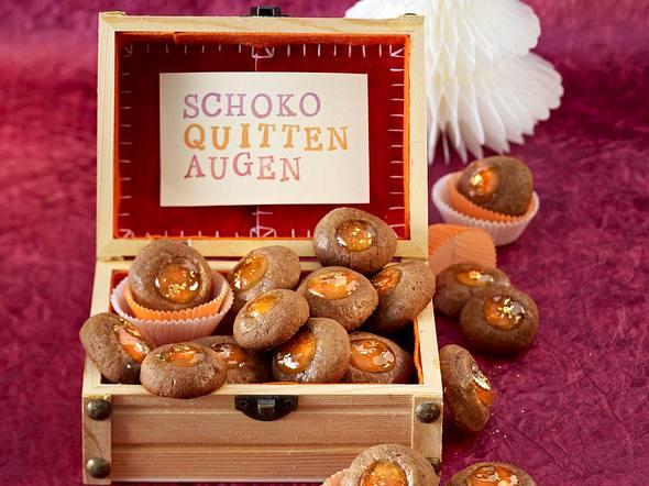 Schoko-Quitten-Augen Rezept