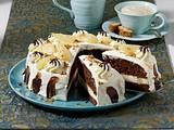Schoko-Zimt-Torte mit Birnen Rezept