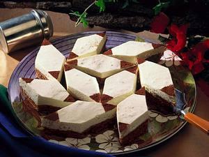 Schokoladen-Amaretto-Rauten Rezept