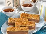 Schokoladen-Bienenstich-Schnitten Rezept