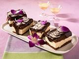 Schokoladen-Eierlikör-Schnitten Rezept