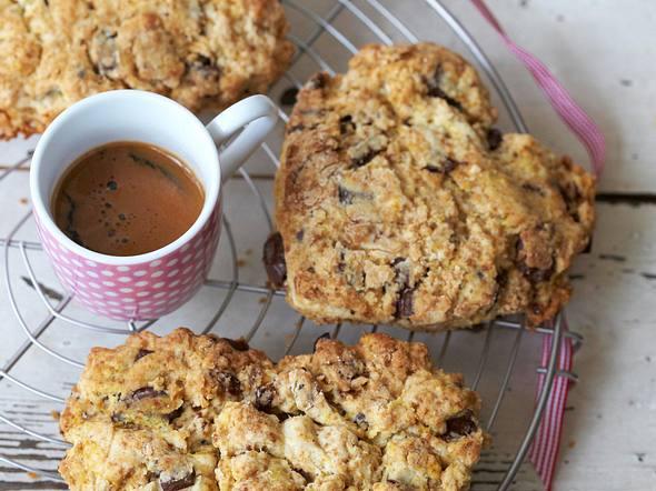 Schokoladen-Kirsch-Biscuits Rezept