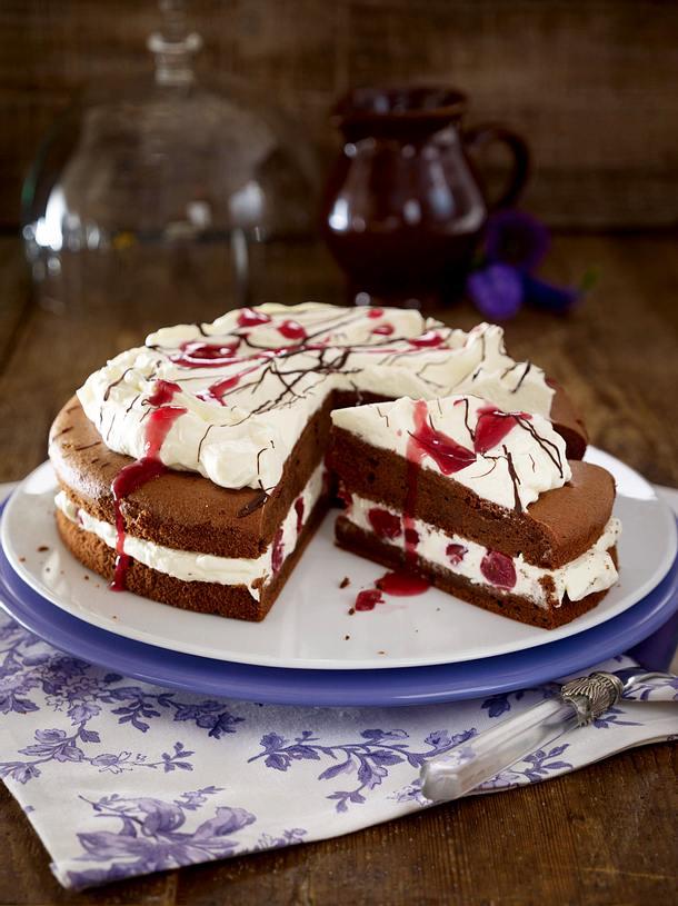 Schokoladen-Kirsch-Torte Rezept
