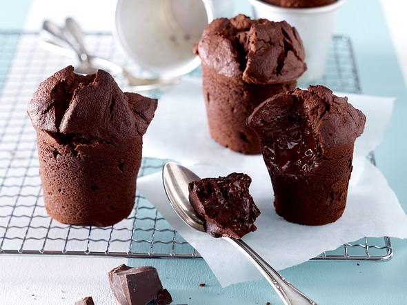 Schokoladen-Küchlein Rezept