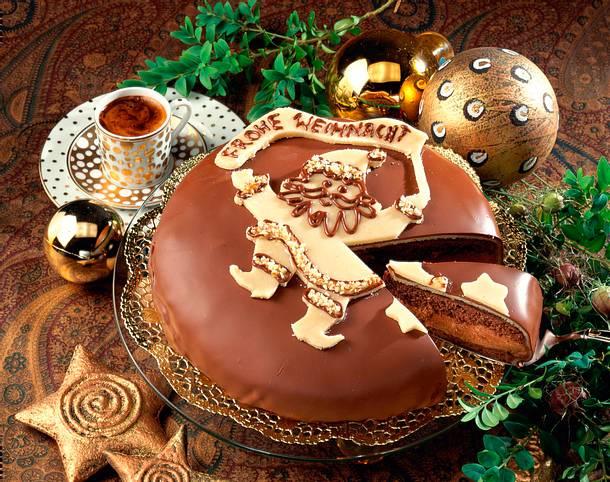 Schokoladen-Weihnachtstorte Rezept