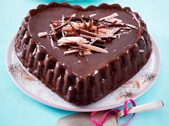 Schokoladenherz nach Sacher Rezept