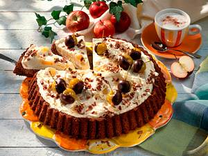 Schokoladenkuchen mit Mascarponecreme Rezept