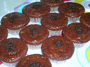 schokoladige Marillen-Muffins Rezept