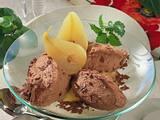 Schokomousse mit Birne Rezept