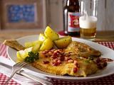 Scholle Finkenwerder Art mit Petersilienkartoffeln Rezept
