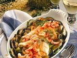 Schollenfilets mit Shrimps Rezept