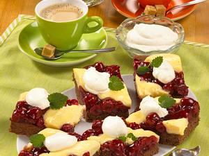 Schwarzwälder Pudding-Schnitten Rezept