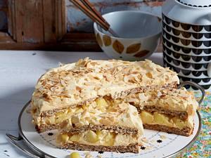Schwedische Apfel-Mandel-Torte Rezept