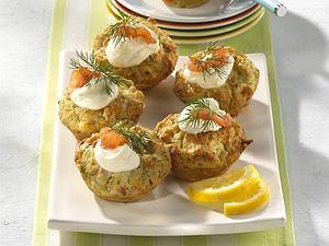 Schwedische Lachs-Muffins Rezept