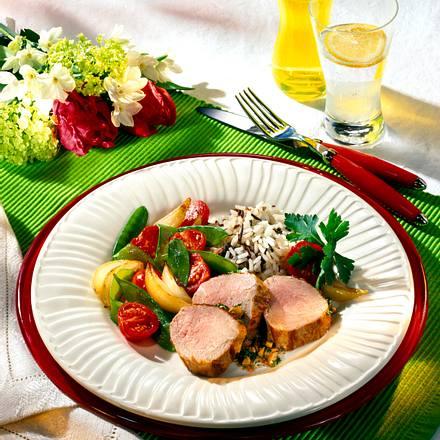 Schweinefilet mit Erdnusskruste (Diabetiker) Rezept