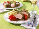 Schweinefilet mit Kräuterkruste Rezept