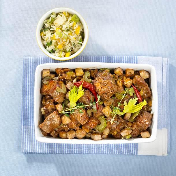 Schweinefleisch mit Honig und Thymian Rezept