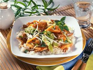 Schweinegeschnetzeltes mit Reis Rezept