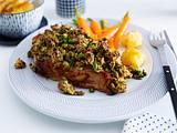 Schweinekoteletts mit Pistazien-Kruste Rezept